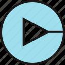 arrow, direction, go, point icon