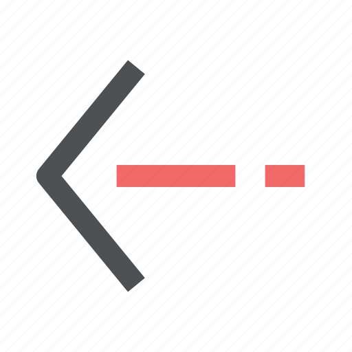arrow, chevron, direction, left icon