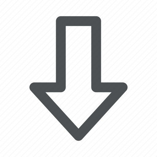 Arrow, chevron, direction, down icon - Download on Iconfinder