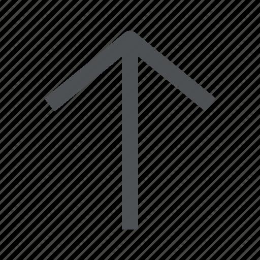 arrow, chevron, direction, up icon
