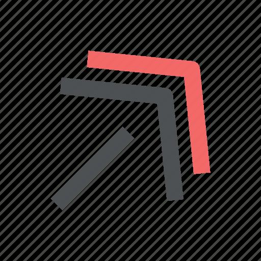 arrow, chevron, direction icon