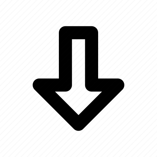 Arrow, down icon - Download on Iconfinder on Iconfinder