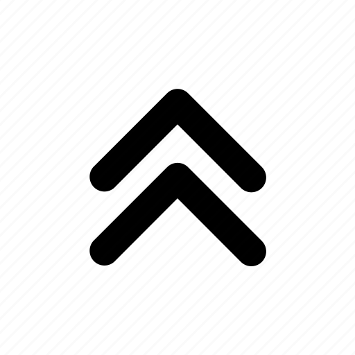Arrow, chevrons, double, up icon - Download on Iconfinder