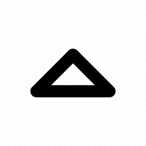 Arrow, caret, triangle, up icon - Download on Iconfinder