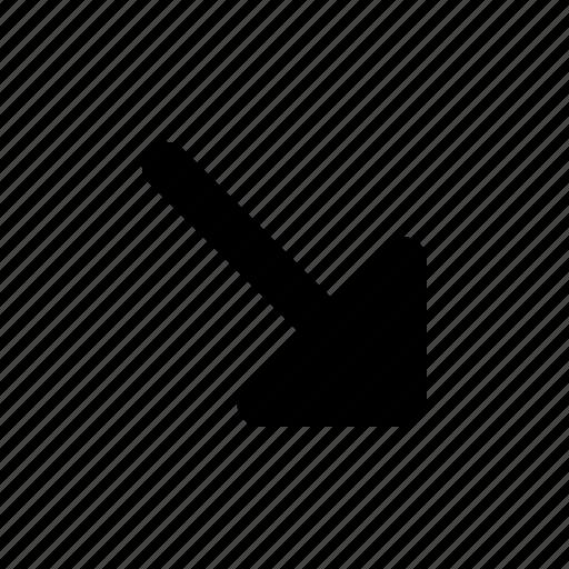 Arrow, corner, right icon - Download on Iconfinder
