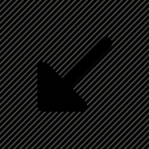 Arrow, corner, left icon - Download on Iconfinder