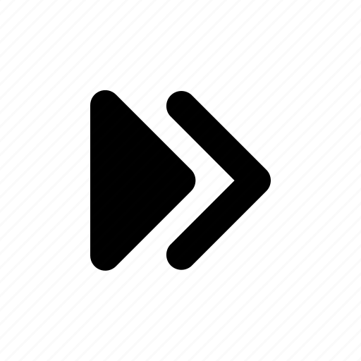 Arrow, chevrons, double, right icon - Download on Iconfinder