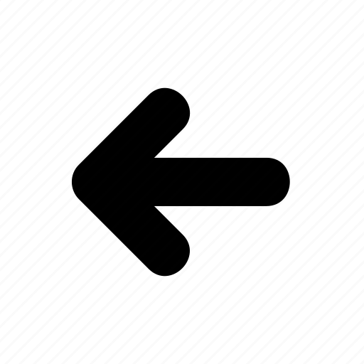 arrow, direction, left, movement, road, sign, street icon