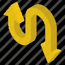 directional arrows, move downward, move upward, navigation, two way arrow