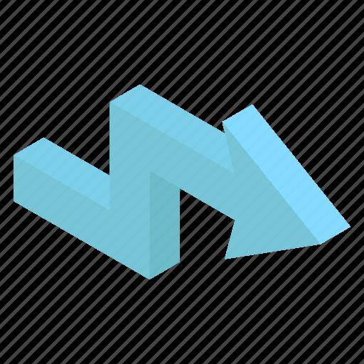 Arrow sign, arrow symbol, bend arrow, pointing arrow, right arrow icon - Download on Iconfinder