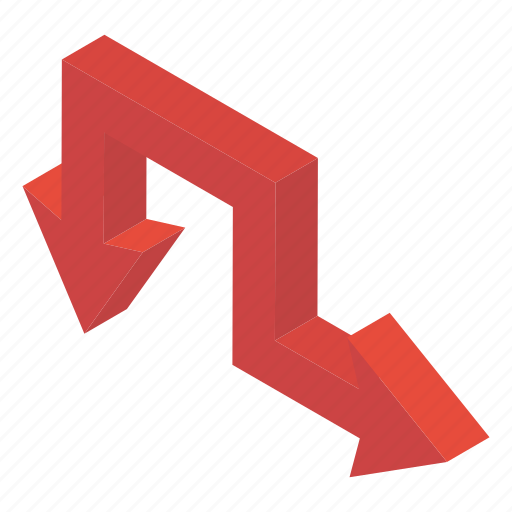 Arrow symbol, directional arrows, move down, navigation, right down icon - Download on Iconfinder