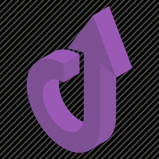 Road arrow, upload, upload arrow, upload sign, upward arrow, web arrow icon - Download on Iconfinder