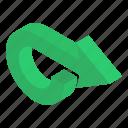 direction symbol, directional arrows, navigation, redo arrow, right bend, road arrow
