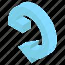 navigation, road arrow, directional arrows, arrow, direction symbol, flexible arch