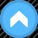 pointer, scroll up, traffic arrow, up, upward arrow icon