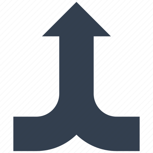 arrows, dirrection, intersection icon