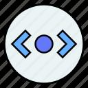 right, controller, scroll, horizontal, arrows