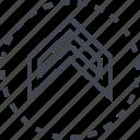 arrow, pointer, slee, up icon