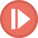 arrow, fast forward button, forward arrow, multimedia button, next track icon