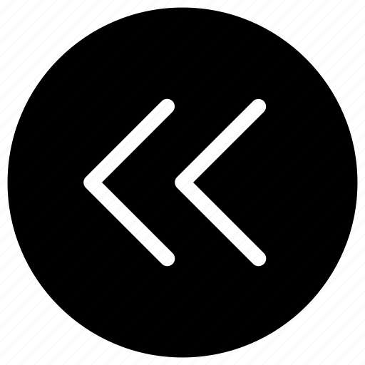 arrow, direction, left, move, previous icon