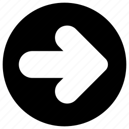 arrows, direction, forward, move, right icon