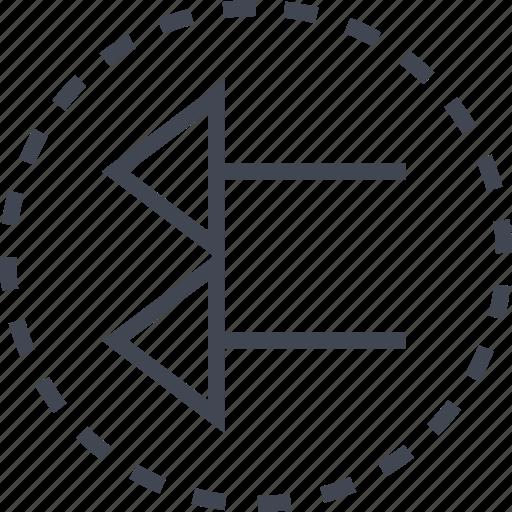 arrow, back, direction icon