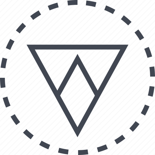 arrow, direction, down, sleek icon