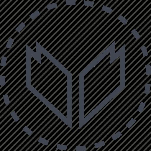 arrow, down, download, sleek icon