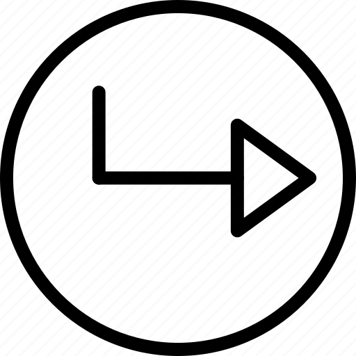 Arrow, circle, right icon - Download on Iconfinder