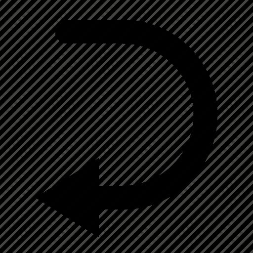 arrow, return, reverse, watchkit icon