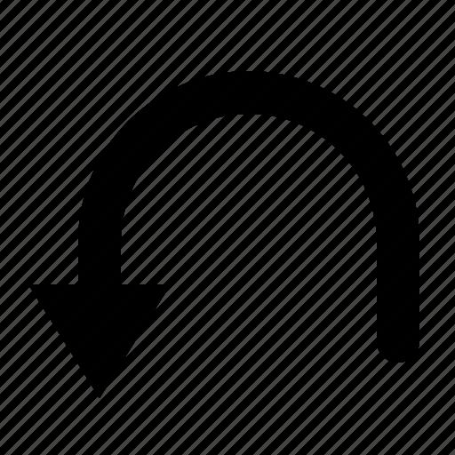 arrow, return, undo, watchkit icon