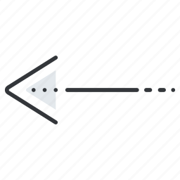arrow, arrows, left, line, pointer icon
