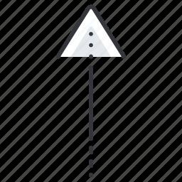 arrow, arrows, line, pointer, up icon