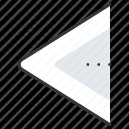arrow, arrows, left, line, pointer icon