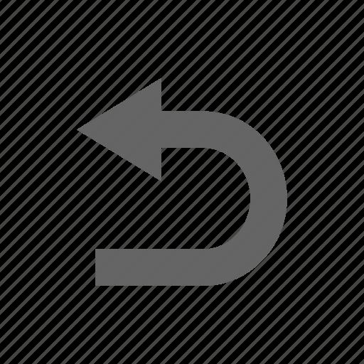 arrow, turn icon