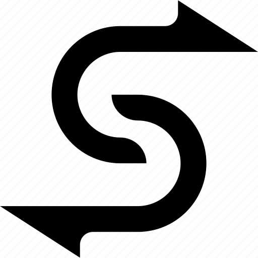 arrow, arrows, change, exchange, link icon
