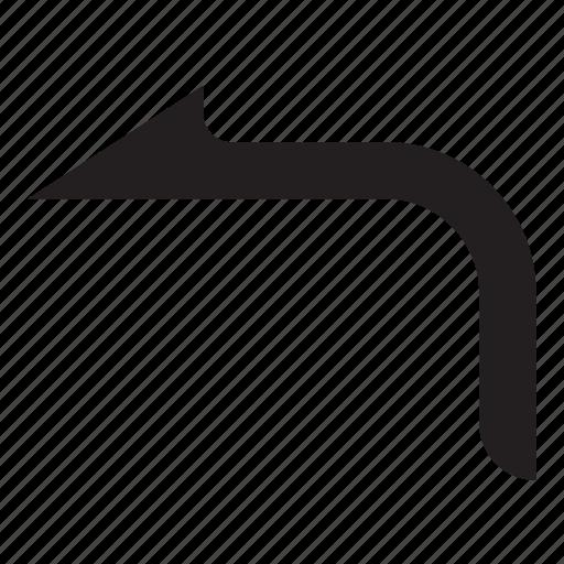arrow, back, forward, left icon
