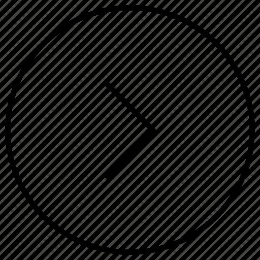 arrow, forward, next, play, right, right arrow icon