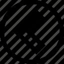 arrow, direction, left, point icon