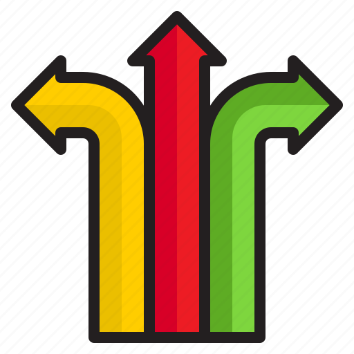 Arrows, point, infographic, element, diagram icon - Download on Iconfinder