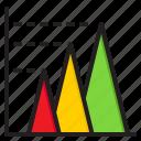 bar, chart, graph, diagram, element, infographic