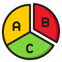 pie, chart, element, infographic, diagram