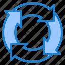 arrow, cycle, infographic, element, diagram