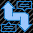 arrow, message, element, infographic, diagram