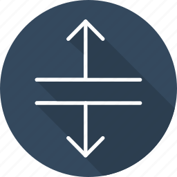 arrows, direction, expand, interface, multimedia option, orientation icon