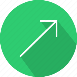 arrows, direction, interface, multimedia option, orientation, right icon