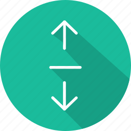 arrows, direction, expand, interface, multimedia option, orientation icon