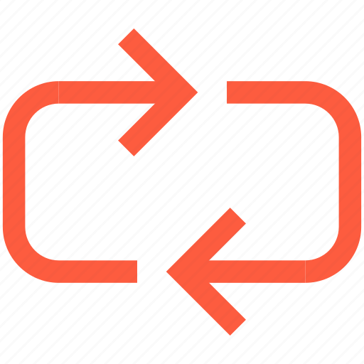 arrow, circuit, cycle, loop, repeat icon