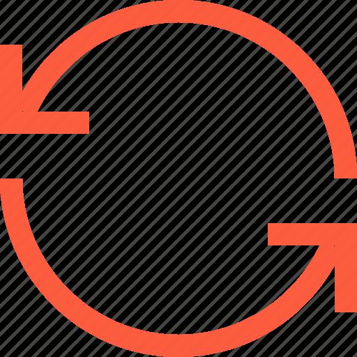 arrow, process, sync, synchronize, update icon