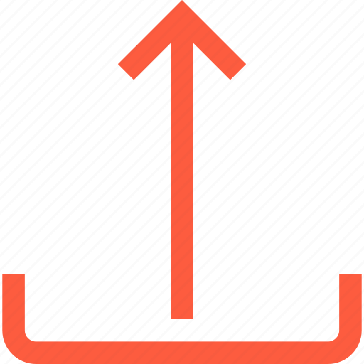 arrow, boost, interface, share, toolbar, up, upload icon